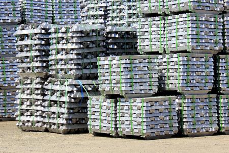 aluminum: Ingot of aluminum