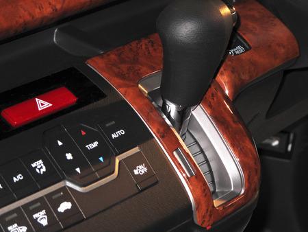 passenger car: Passenger car of the shift lever