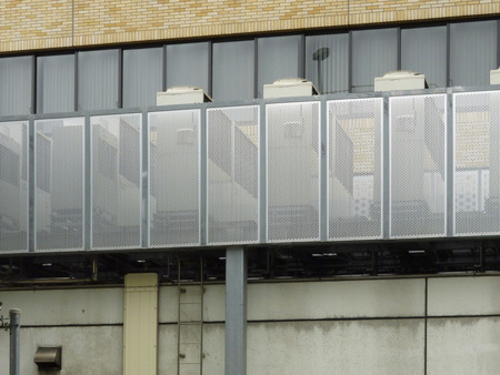 Building of air conditioning