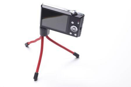 computerize: Compact digital cameras with mini tripod