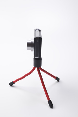 Compact digital cameras with mini tripod