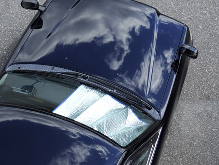 awnings: Car shade sheet