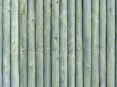 Fence of logs 写真素材