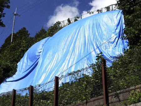 glue: Blue sheet of glue surface renovation