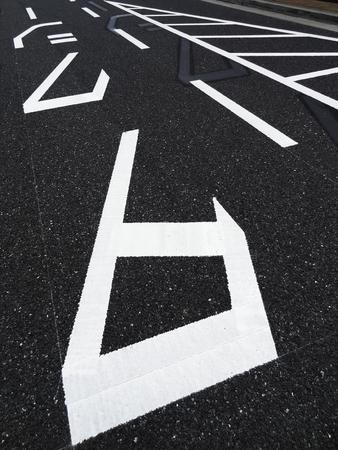 an approach: Arrow of taxi approach path