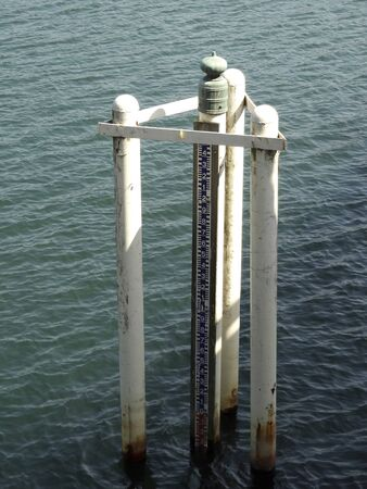 observations: River water level meter