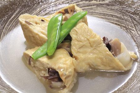 bean curd: Yuba cuisine