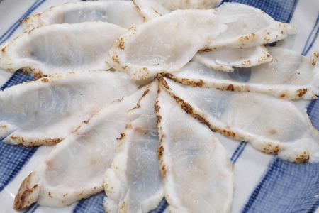 blowfish: Seared blowfish