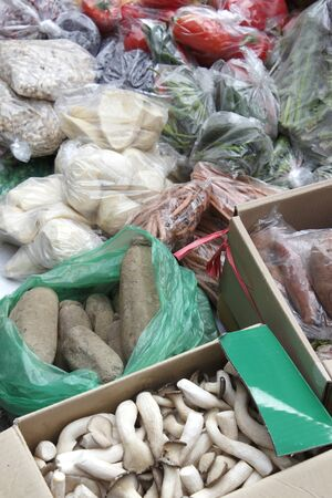 stalls: Stalls selling vegetables