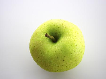 青リンゴ 写真素材