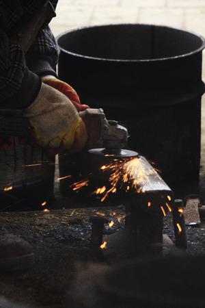 molinillo: Amoladora de Iron Works