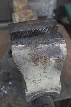vise: Of Iron Works vise