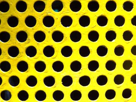 perforated: Perforated metal Stock Photo