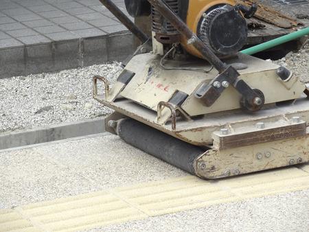 make public: Earthmoving machinery of road construction