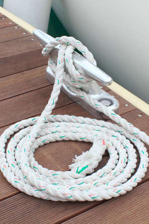 cleat: Cleat knot pier