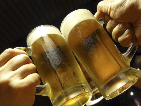 unprocessed: Cheers anyway. Stock Photo