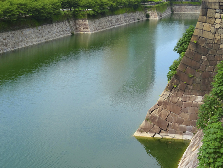 moat: Moat of Osaka Castle