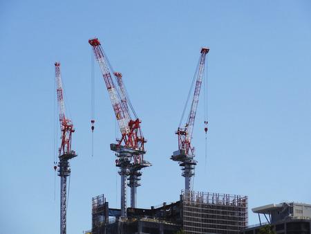 建築建設クレーン