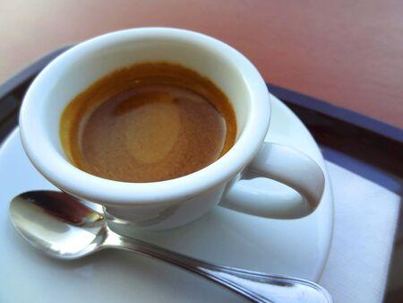 intermission: Espresso coffee Stock Photo