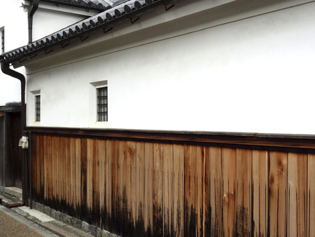 Important traditional building group preservation area of Imai town plastered walls