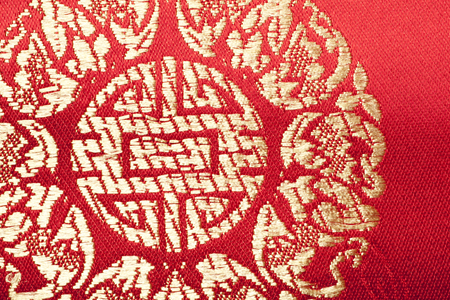 back cloth: Background material of China fabric