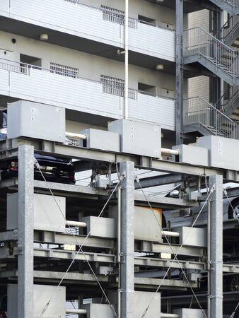 garage: Mechanical multistory parking garage