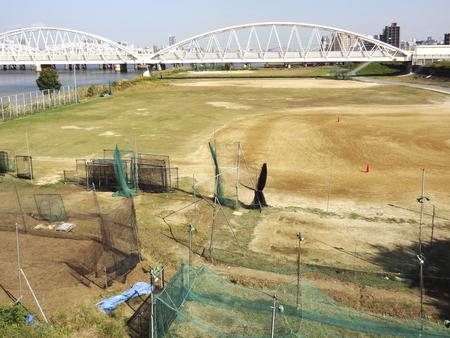 ballpark: Kusano ballpark of Yodogawa river