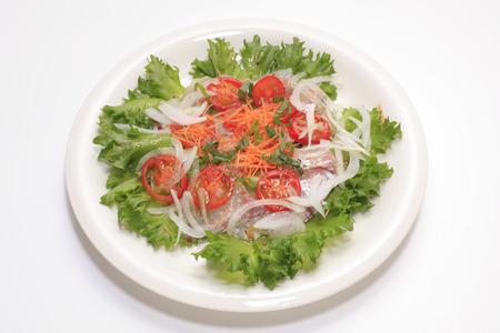 hygenic: Vegetable salad