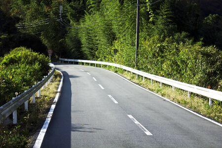 mountainous: Mountainous part of the road