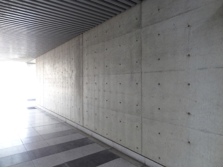 Betonnen muur Stockfoto