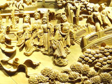 고전 중국의 조각 스톡 콘텐츠