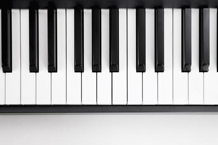 teclado de piano: Teclado Foto de archivo