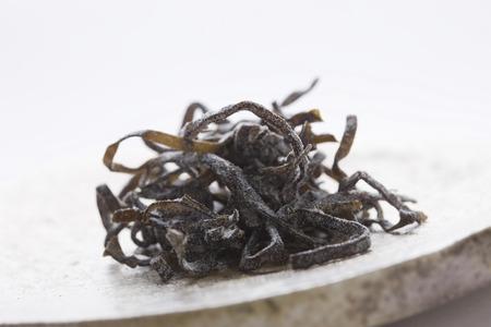 alga marina: algas picado sal Foto de archivo