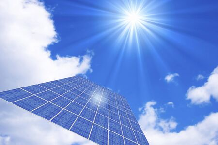 gleaming: Solar electric generation