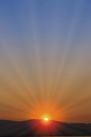 dawning: Sunrise Stock Photo