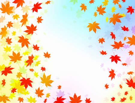 disperse: Maple pattern