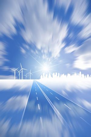 straight path: Clean energy