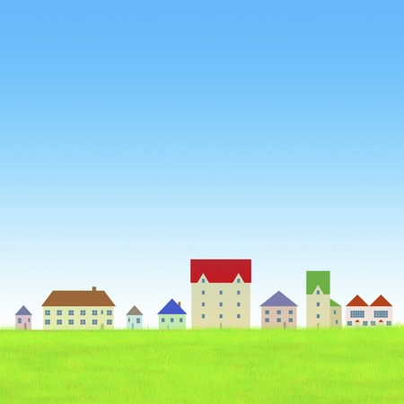 townscape: Housing Stock Photo
