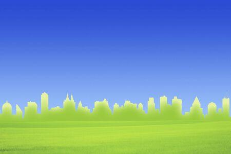 grasslands: Green Cityscape