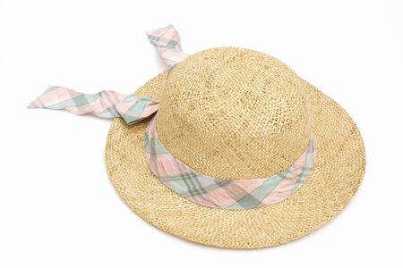 straw hat: Cappello Di Paglia Archivio Fotografico