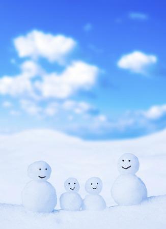 comrade: Snowman Stock Photo