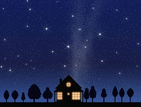 family constellation: Night of house