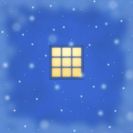 windowsill: Windowsill of snow