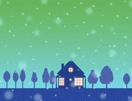 residency: Night of house