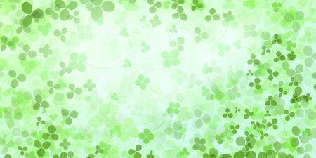 trifolium repens: Clover pattern