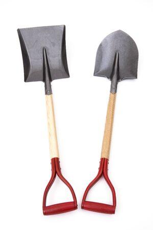 implements: Shovel and shovel