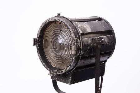 retro: Spotlight Stock Photo