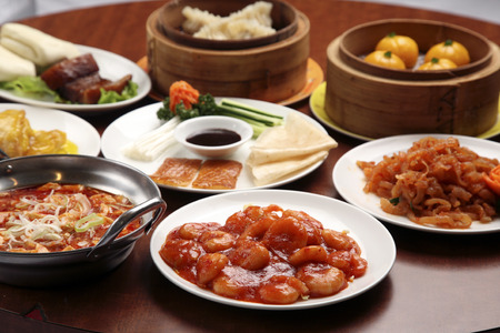 Chinese cuisine Stock Photo