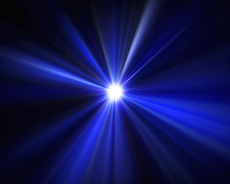 光の放射 写真素材
