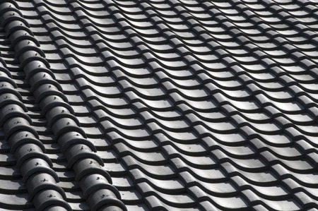 neatness: Tile roof